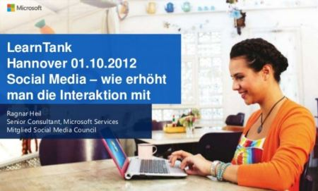 LearnTank Hannover, Ragnar Heil, Microsoft