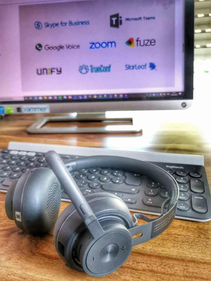 Review Logitech Zone Wireless Active Noise Cancellation Headset Ragnar Heil Stream Out Loud Work Out Loud